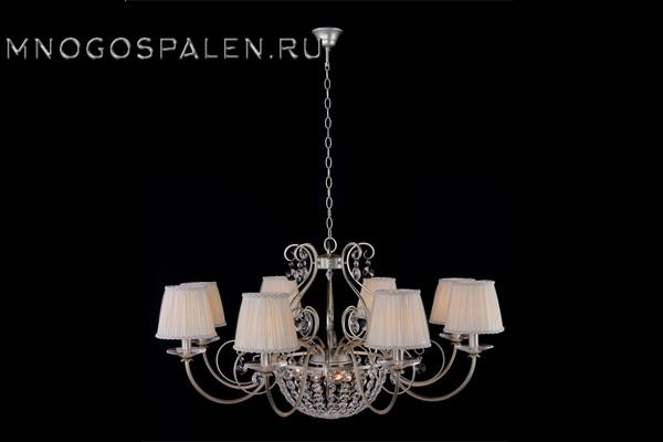 Люстра ASTRA SP8+3 купить в салоне-студии мебели Барселона mnogospalen.ru много спален мебель Италии классические современные