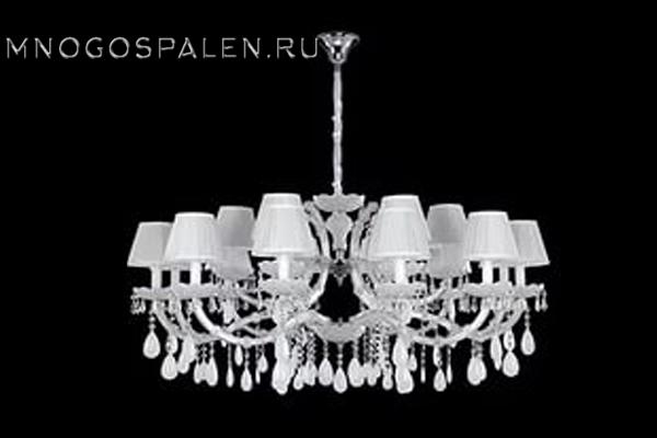 Люстра BLANCA SP 18 купить в салоне-студии мебели Барселона mnogospalen.ru много спален мебель Италии классические современные