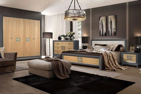 купить спальня Sabrina 1 салон итальянский мебели барселона в
