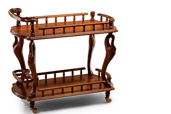 Стол сервировочный арт. 39 купить в салоне-студии мебели Барселона mnogospalen.ru много спален мебель Италии классические современные