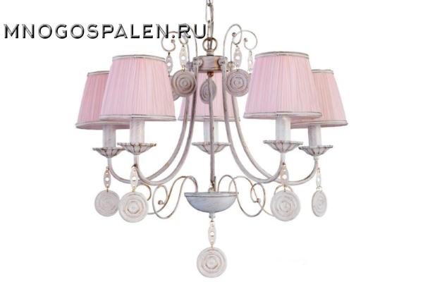 Люстра Crystal lux Emilia SP5 купить в салоне-студии мебели Барселона mnogospalen.ru много спален мебель Италии классические современные