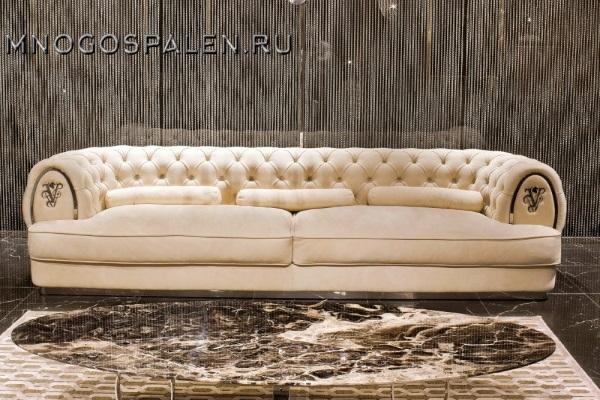 Диван Divano GM 24 купить в салоне-студии мебели Барселона mnogospalen.ru много спален мебель Италии классические современные