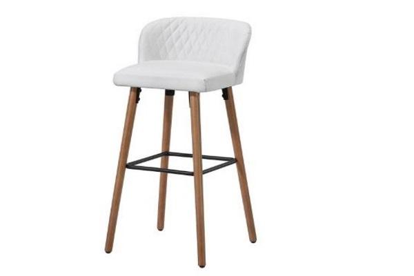 Барный Стул 2-169M-1 White купить в салоне-студии мебели Барселона mnogospalen.ru много спален мебель Италии классические современные