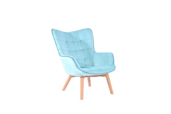Кресло Манго мятный купить в салоне-студии мебели Барселона mnogospalen.ru много спален мебель Италии классические современные